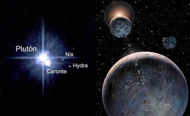 cuántas lunas tiene plutón 3