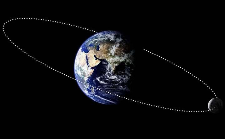 dónde está la luna 1