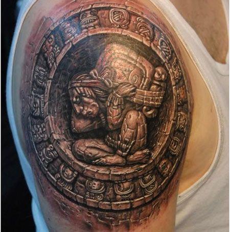 el sol en tatuaje-13