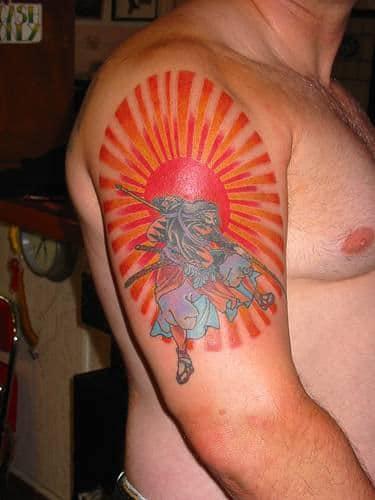 el sol en tatuaje-28