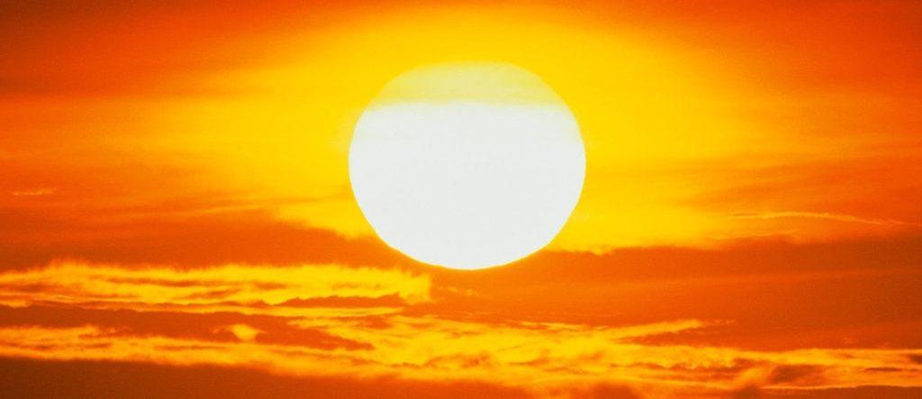 el sol se mueve