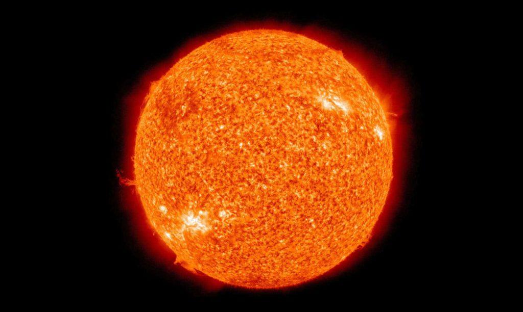 El sol y su estructura