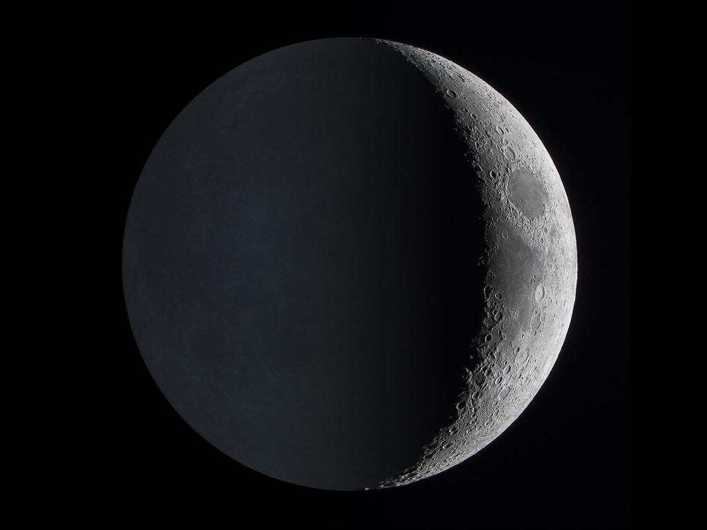 formas de la luna