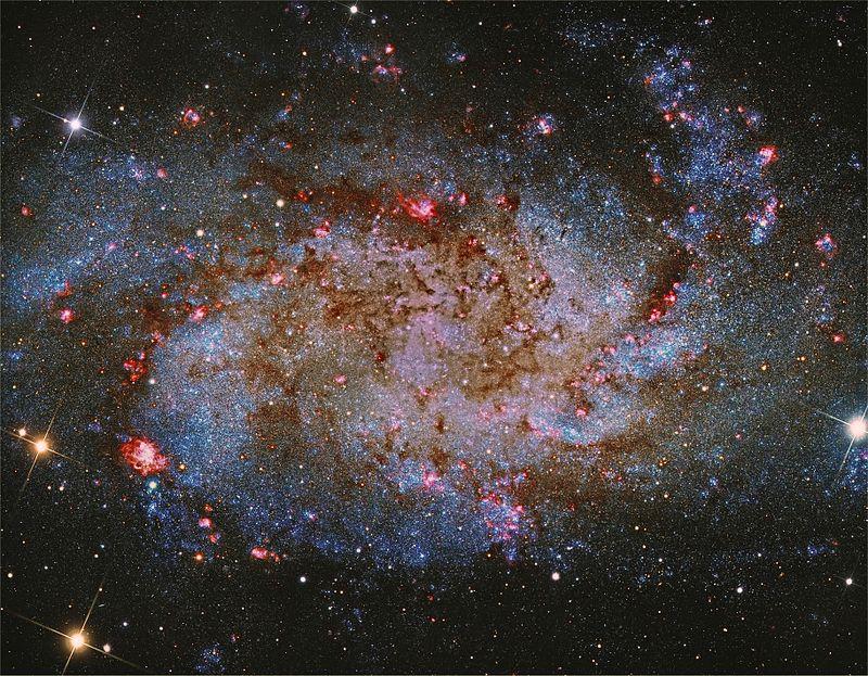 galaxia cercana a la vía lactea triángulo