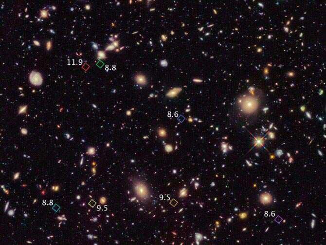 descubiertas por Hubble