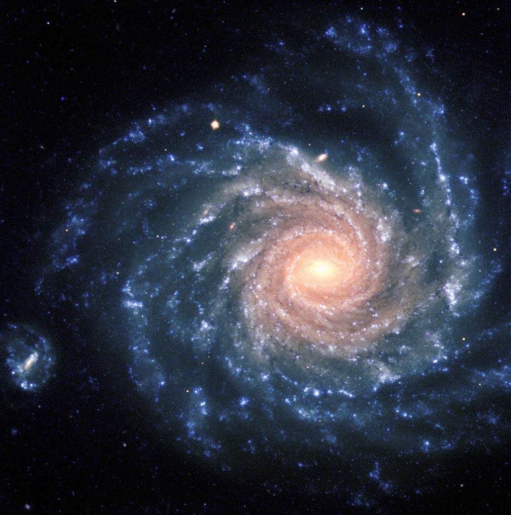 galaxias nebulosas son distntas
