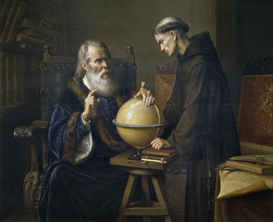 Galileo juzgado por la iglesia católica