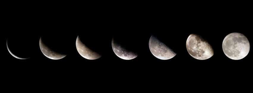 luna creciente 29