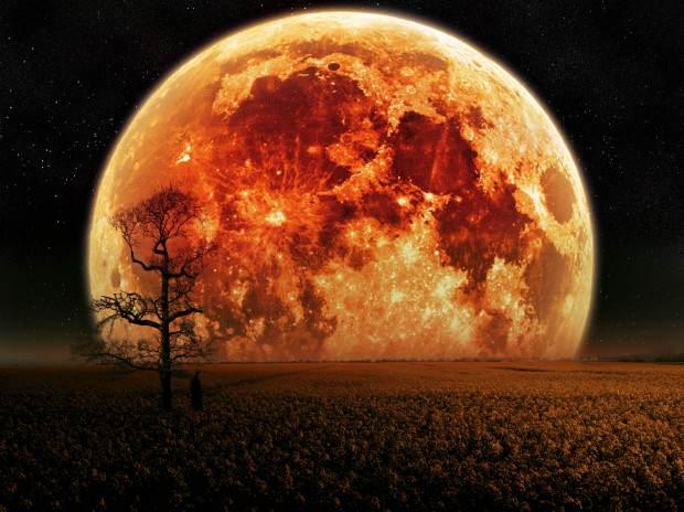 luna de sangre según la biblia
