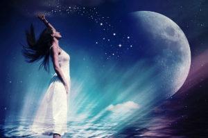 Luna menguante: Significado, Beneficios, Rituales y mucho más