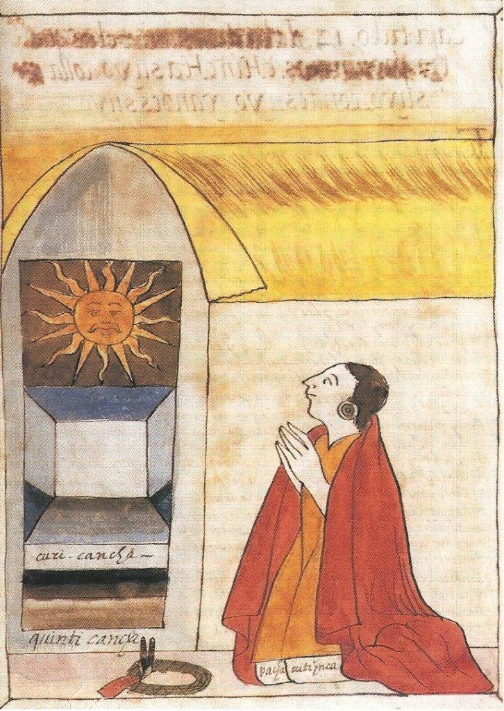 El Sol adorado por mayas