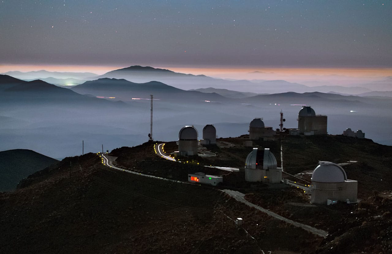 Astonomía en Chile observatorio la silla