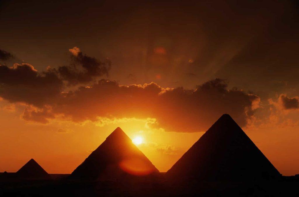 Astronomía egipcia pirámides