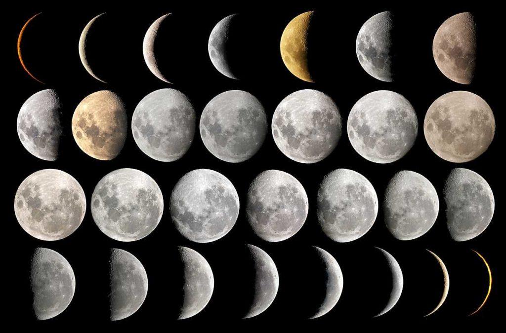 por qué la luna tiene fases