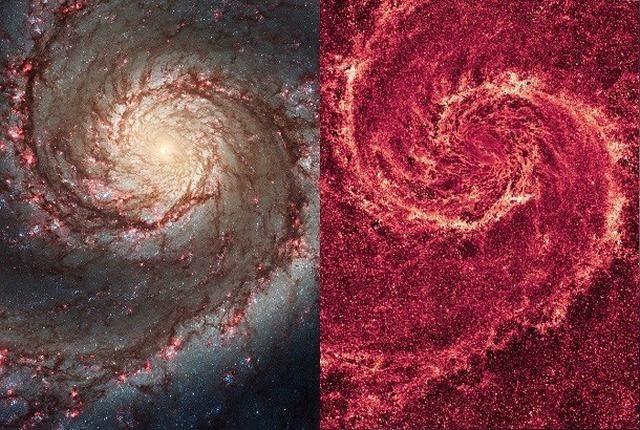 Galaxias hermosas remolino