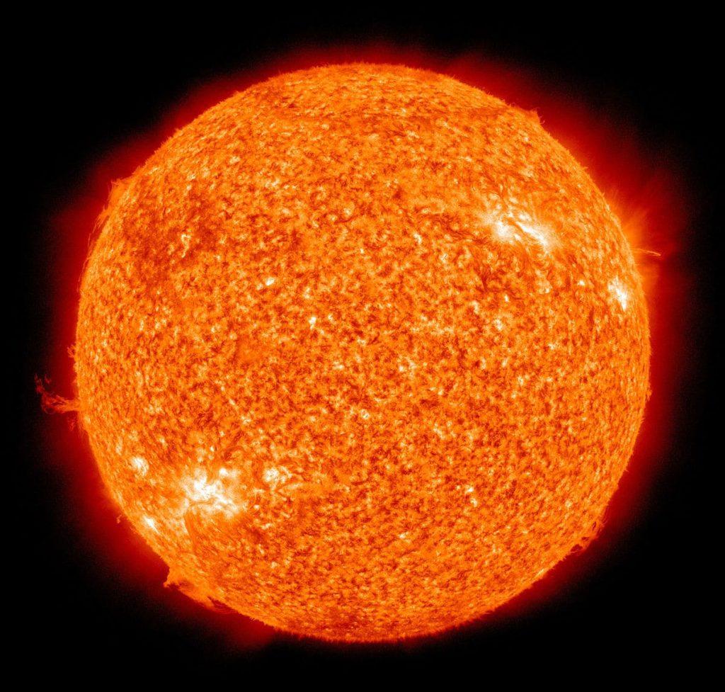 Características del Sol luz solar