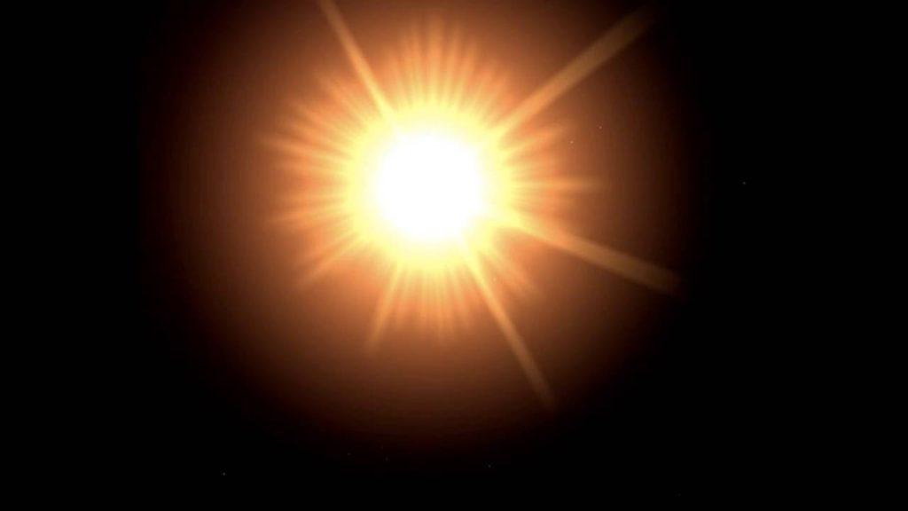 De qué está hecho el Sol radiante