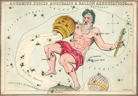 Acuario constelación