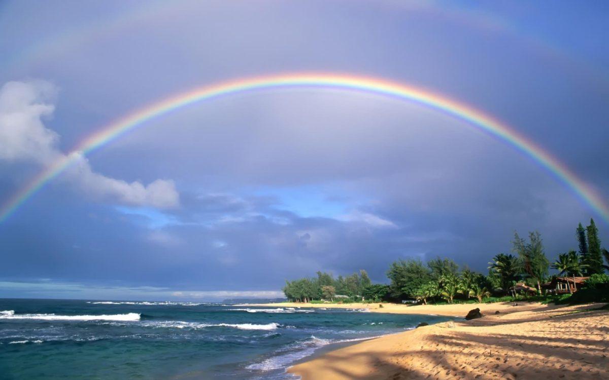 arcoiris en el Firmamento