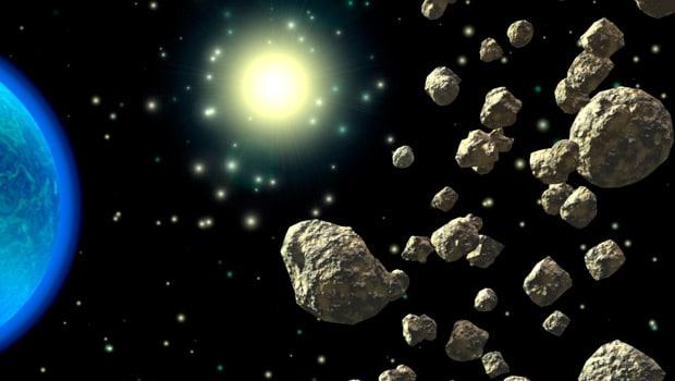 Asteroide 1371 y muchos asteroides más descubiertos