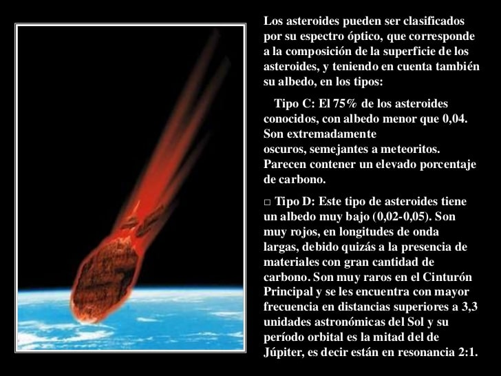 fotografía del asteroide 628