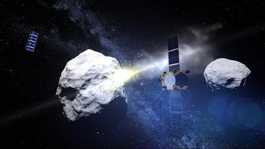 peligro de asteroide didymis