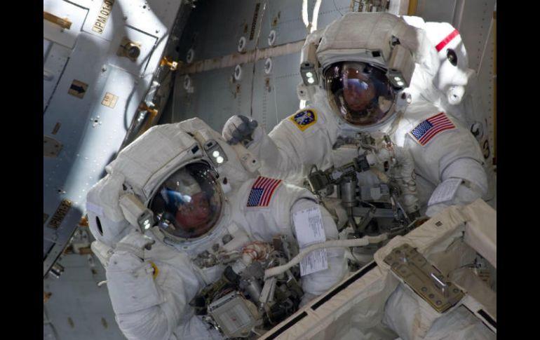 Astronautas listos