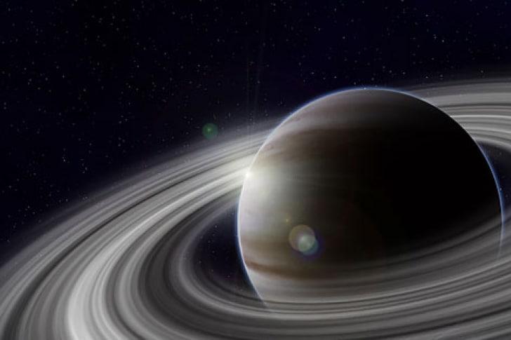 atmósfera de saturno