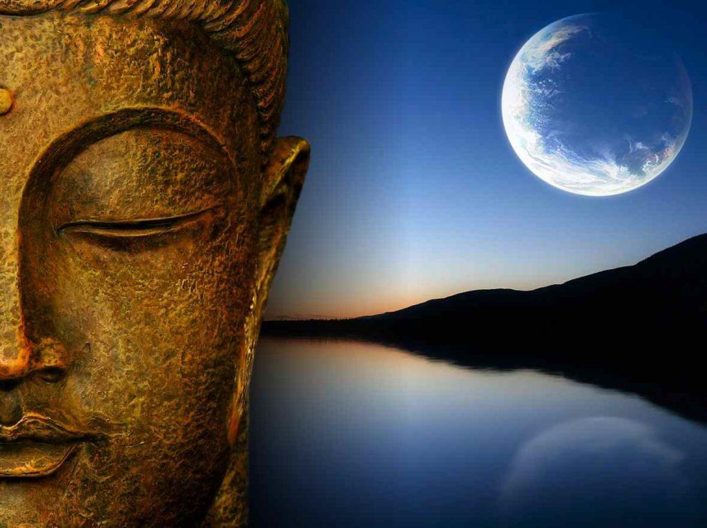 budistas y su pensamiento de la creación del universo