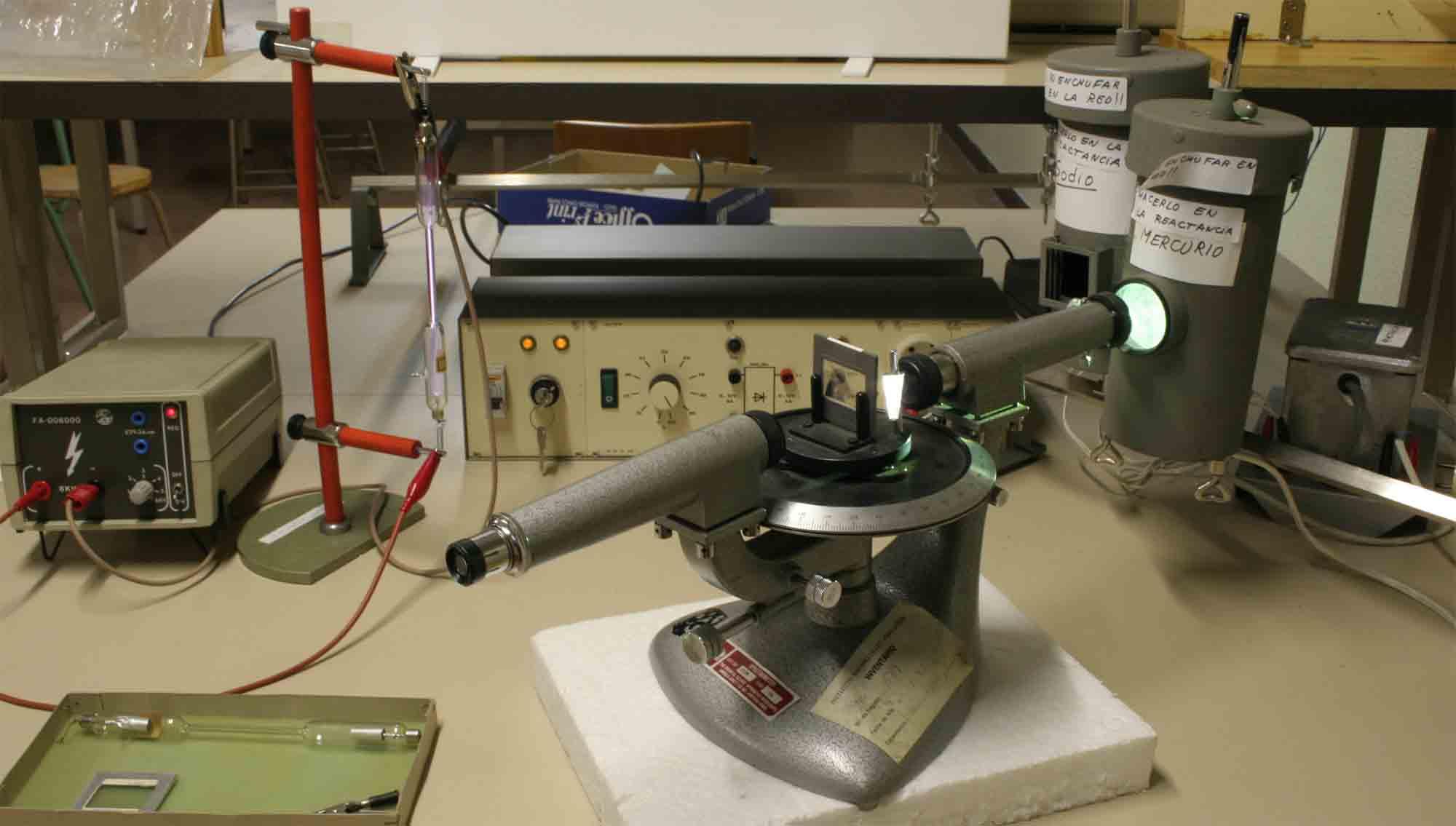 Espectroscopio para ver estrellas del Firmamento