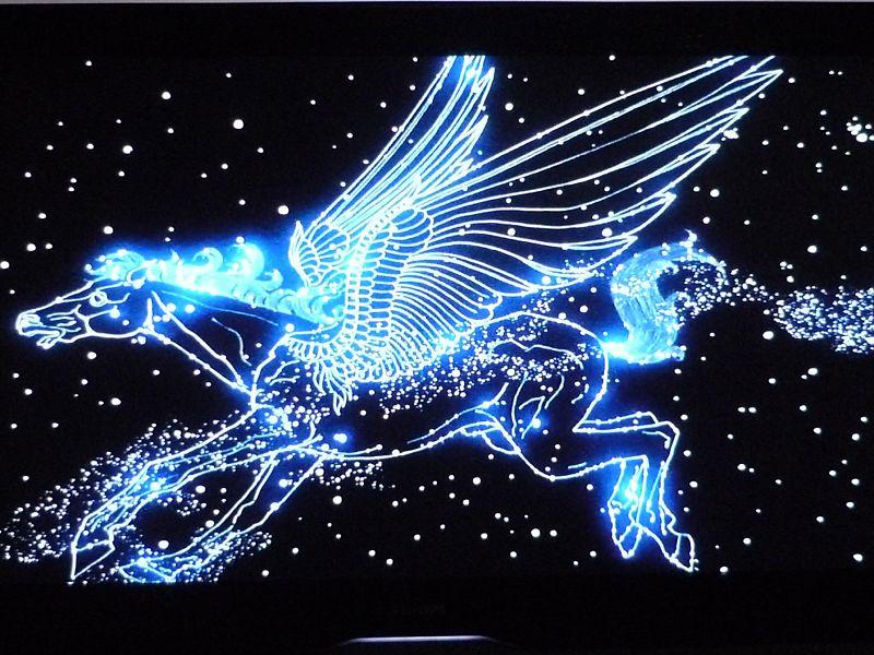 constelación de unicornio