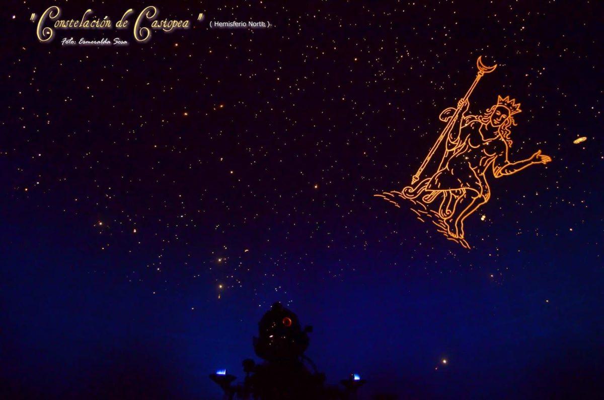 constelación casiopea