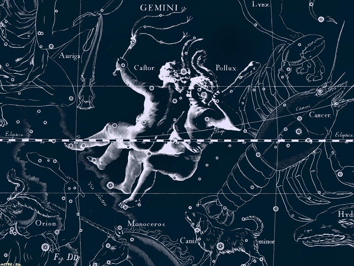 características de la constelación de géminis