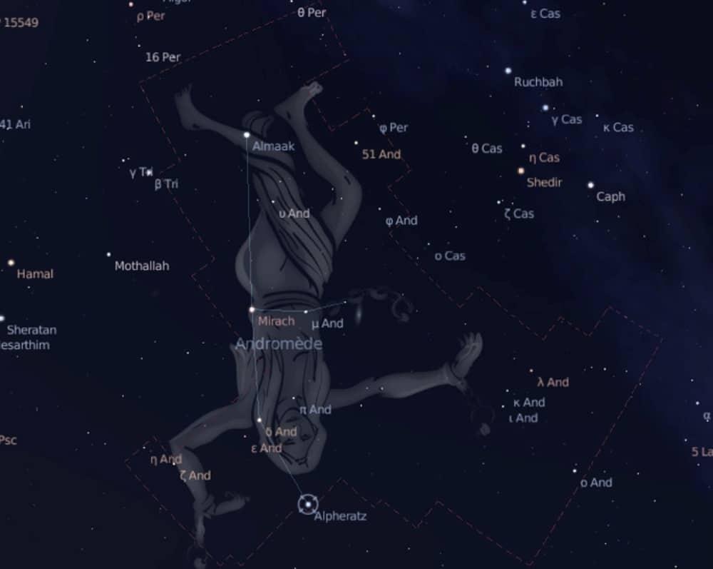 constelaciones andrómeda