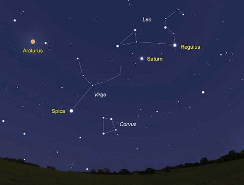 Resultado de imagen de constelacion de virgo
