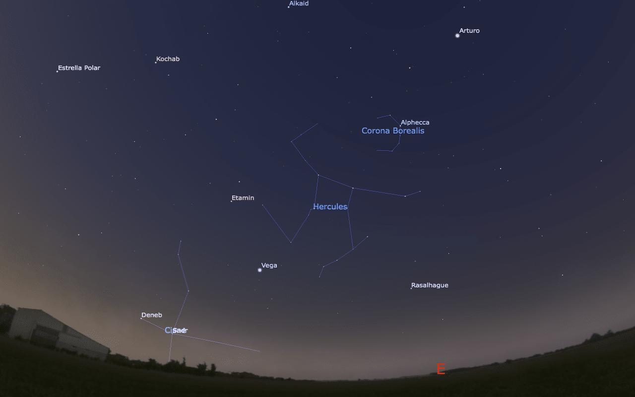 constelaciones hércules