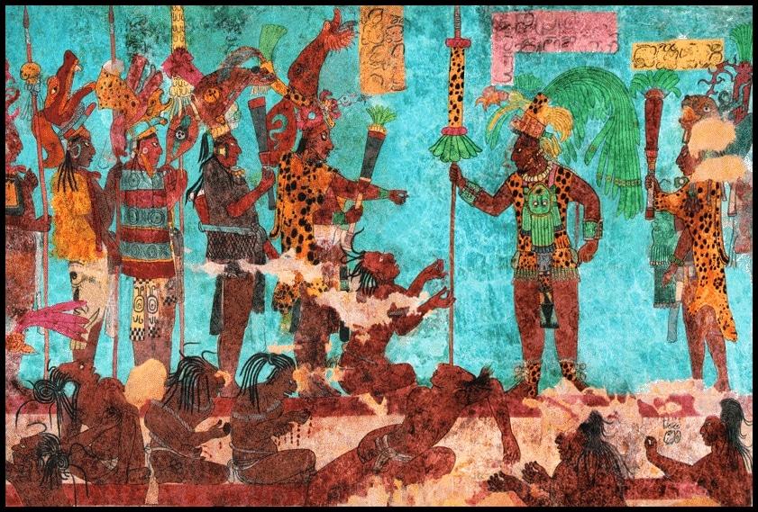 vestigios de las constelaciones mayas