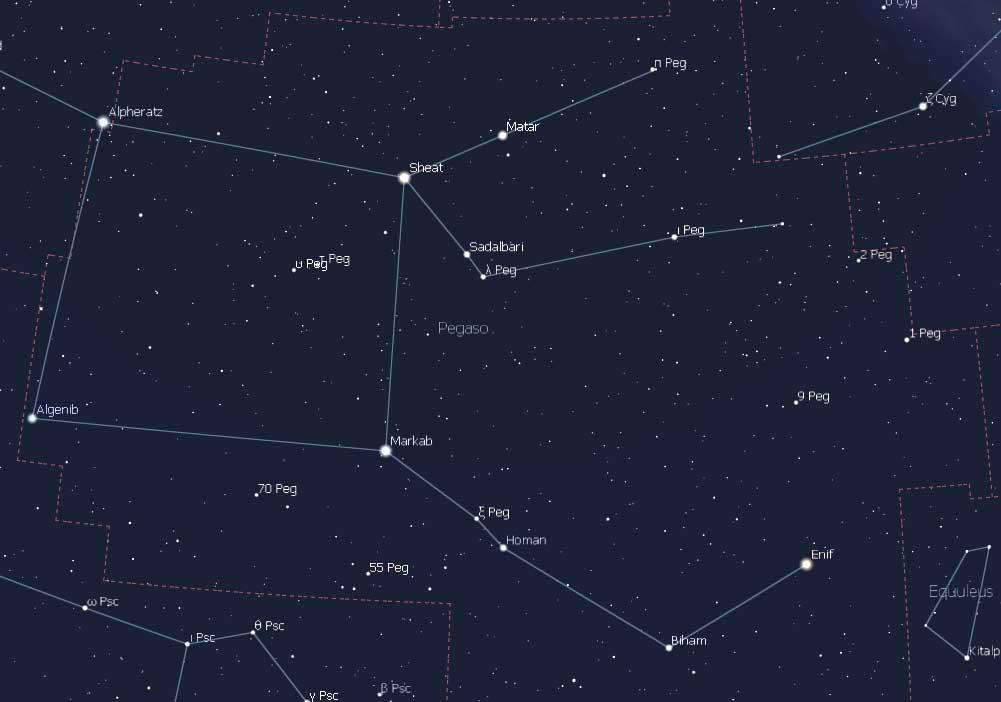 constelaciones pegaso 4