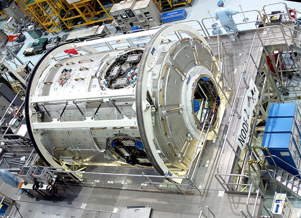 Nave espacial y sus componentes
