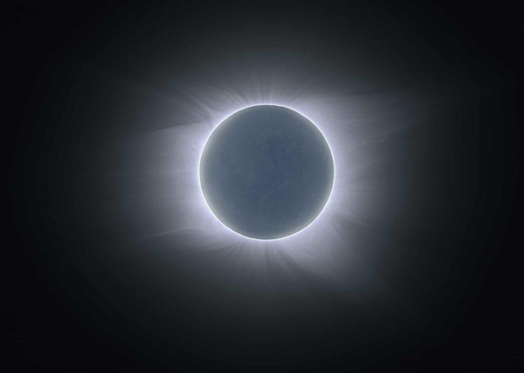 Corona del sol