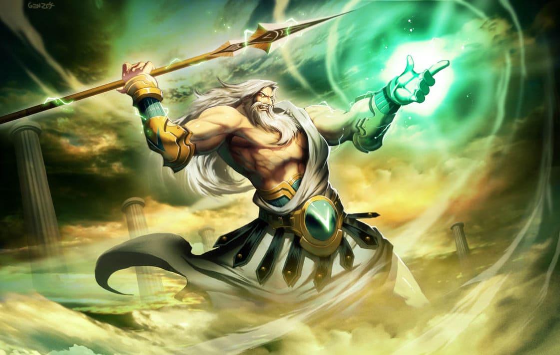 dioses de la cosmologia griega