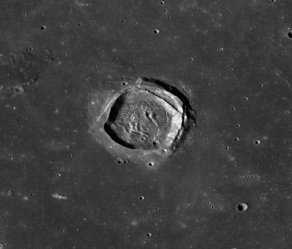 cráteres del Asteroide Eros