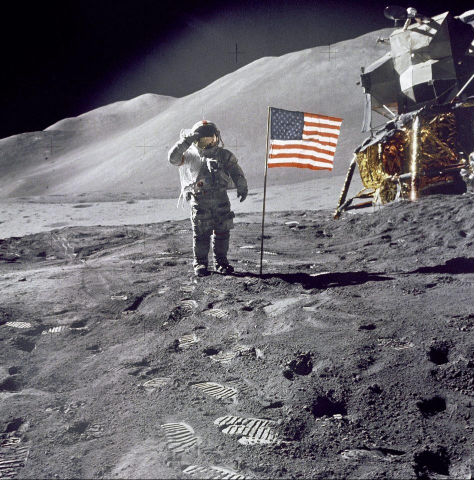 astronauta americano david scott
