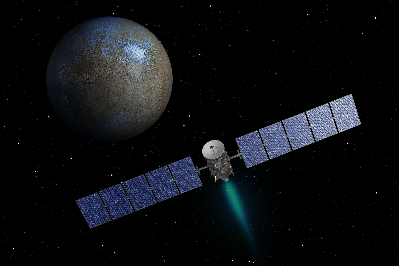 Dawn estudia el Asteroide Ceres