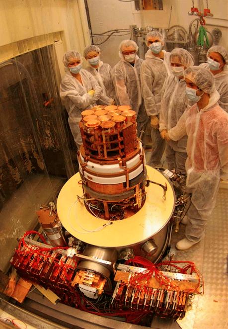 Detector Lux Zeplin