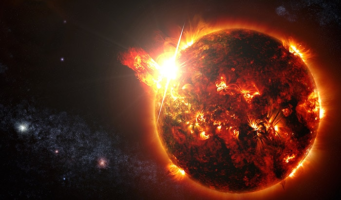 evolucion del sol