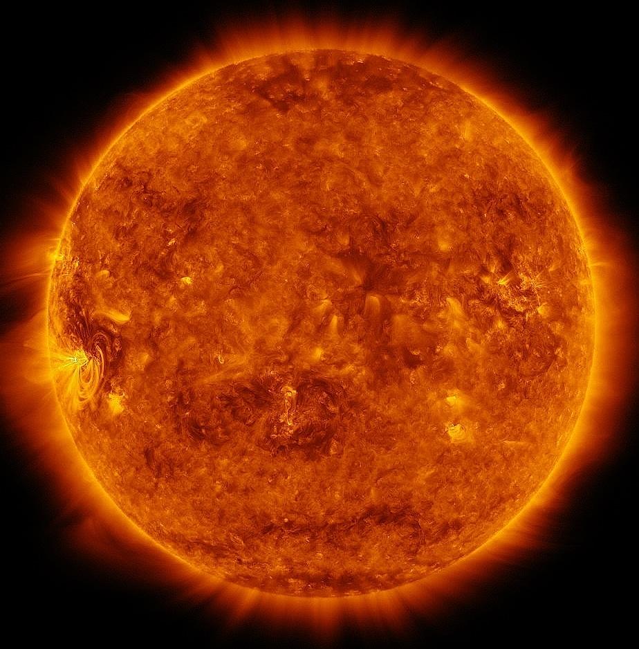 Fácula como Fases o ciclo del sol