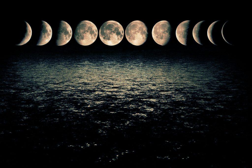 Cosmología fases de la luna