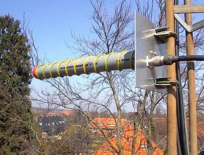 antenas tipo helicoidal