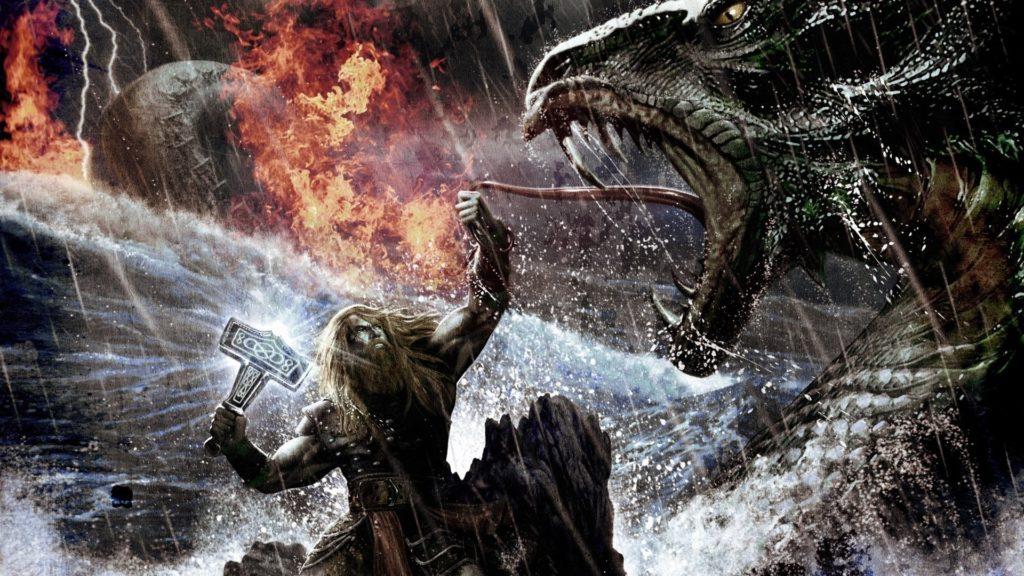 Lucha del gigante Ymir según la Cosmología nórdica